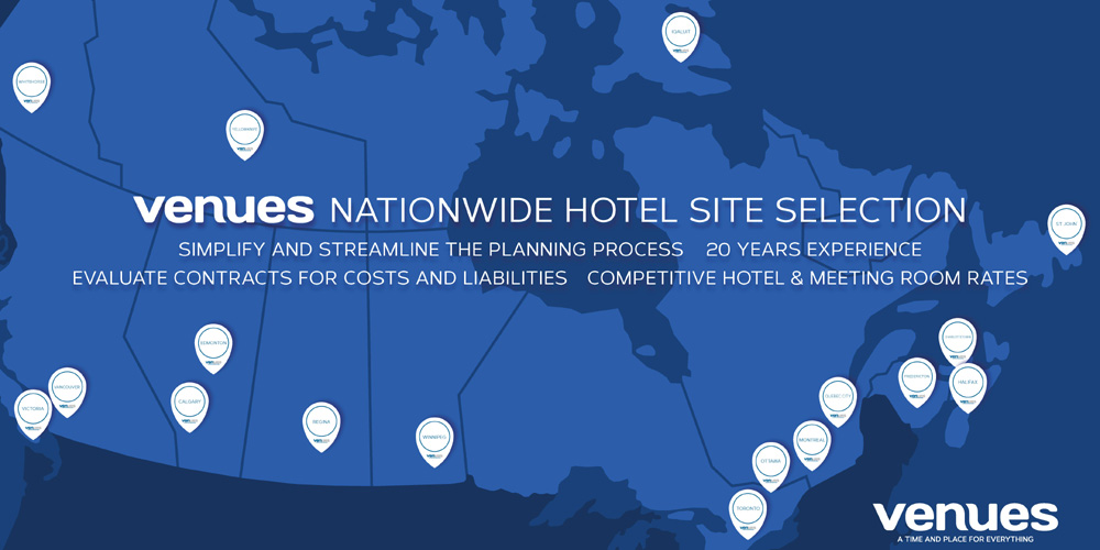 Venues Hotel Site Selection